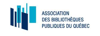 Logo de l'Association des bibliothèques publiques du Québec