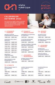 affiche automne 2021