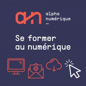 bouton carré AlphaNumérique